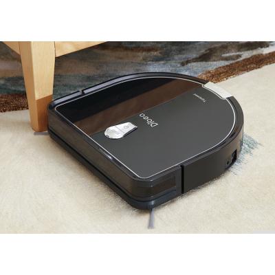 Robot Dibea D960 ma 7,5 cm wysokości, odkurzy kurze pod meblami - idealny dla alergików