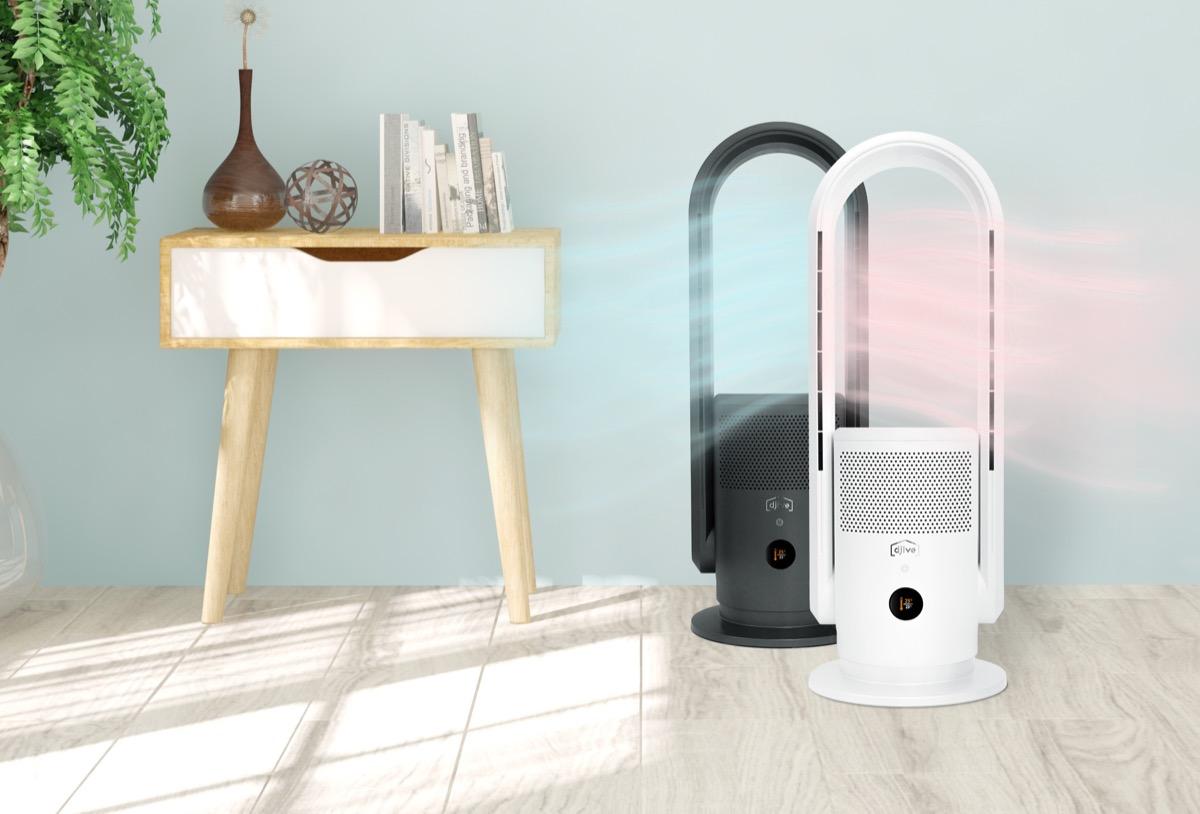 wentylator powietrza z funkcja grzania