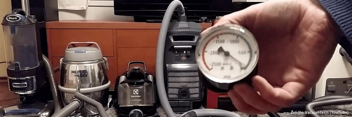 Wakuometr - mierzenie siły ssącej