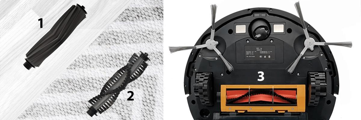 Rodzaje szczotek w robotach sprzątających