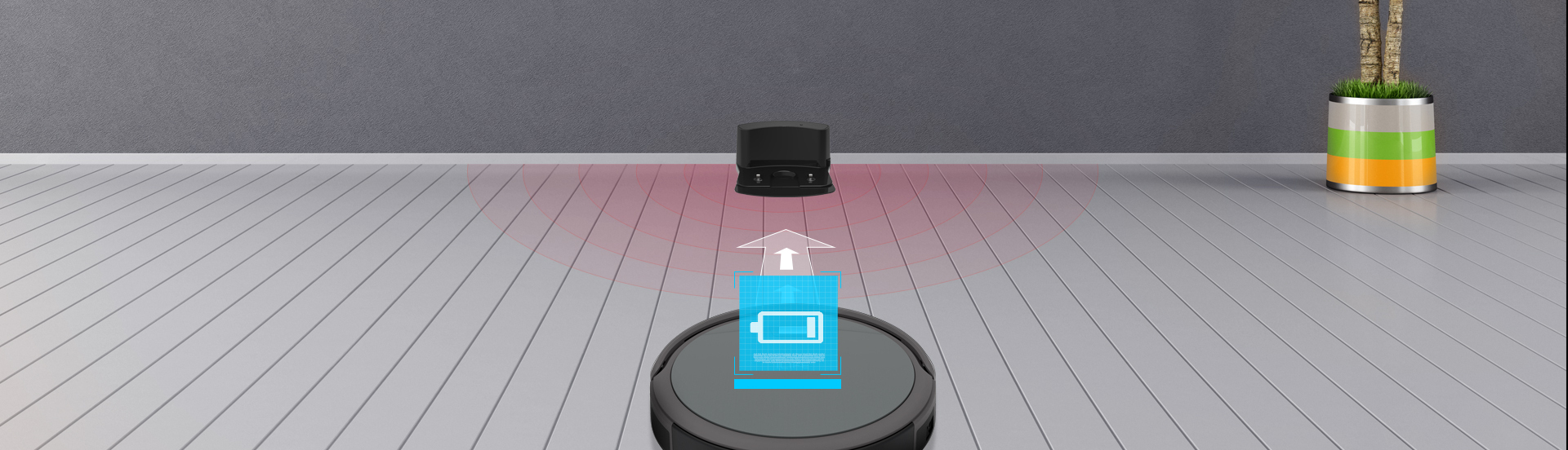 Robot ILIFE A4s automatyczne ładowanie