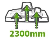 podciśnienie ssania 2300 mm odkurzacz antyalergiczny Harry HHR 200