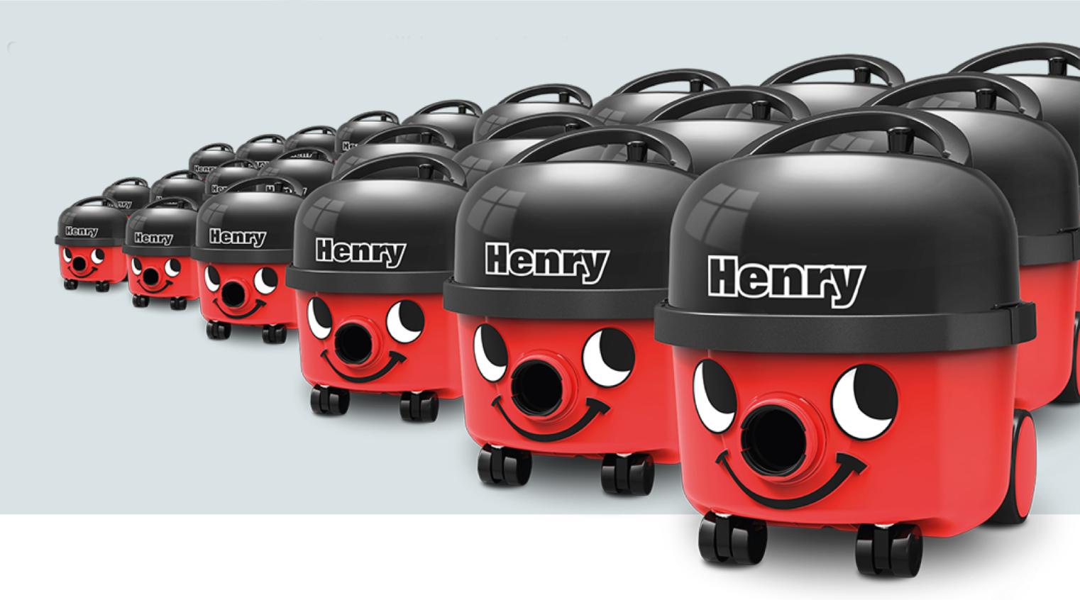 przemysłowa konstrukcja odkurzacz Numatic Henry HVR200