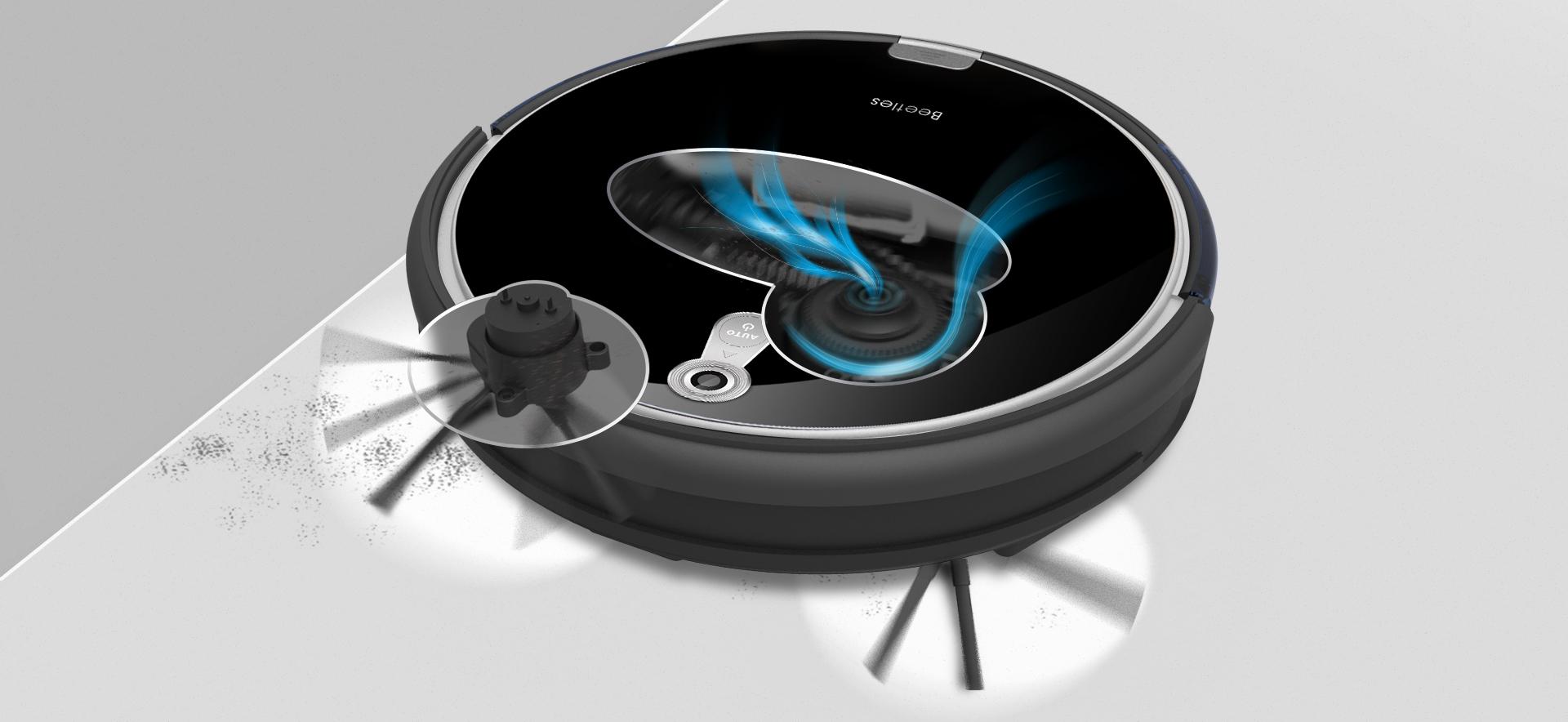 Robot ILIFE A8 trójstopniowy system czyszczenia