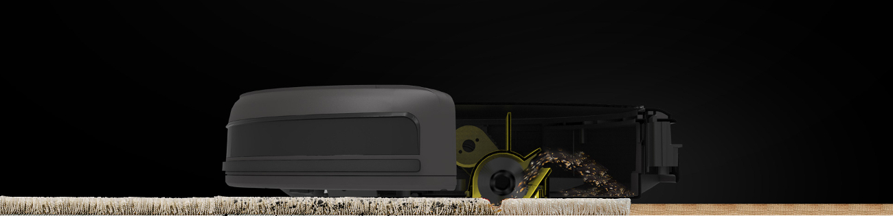 Robot ILIFE A4s wciaganie z dywanow